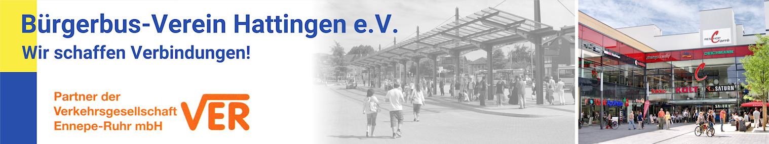 Banner Bürgerbus-Verein Hattingen e.V.